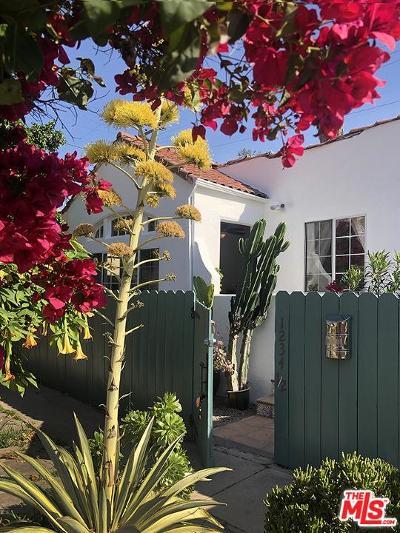 Single Family Home For Sale: 1234 North Cahuenga