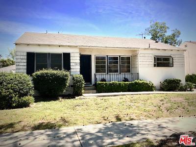 Valley Village Single Family Home Active Under Contract: 5236 Beeman Avenue