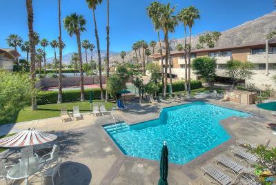 Palm Springs Condo/Townhouse Active Under Contract: 467 South Calle El Segundo #D7