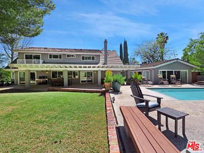 Tarzana Single Family Home For Sale: 4201 Nogales Drive