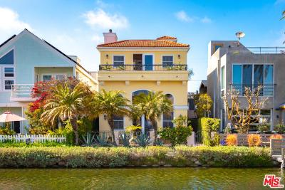 Venice Single Family Home Active Under Contract: 239 Sherman Canal
