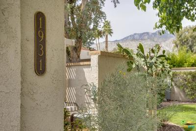 Palm Springs Condo/Townhouse Active Under Contract: 1931 Paseo Pelota