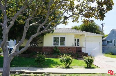 Single Family Home For Sale: 5516 West 79th Street