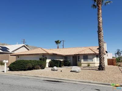 Desert Hot Springs Single Family Home For Sale: 9710 Vista Del Valle