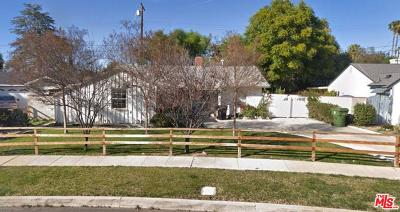 Northridge Single Family Home Active Under Contract: 17371 Willard Street
