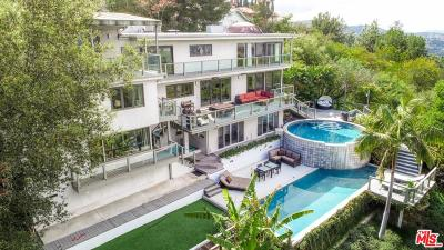 Single Family Home For Sale: 15263 Mulholland Drive