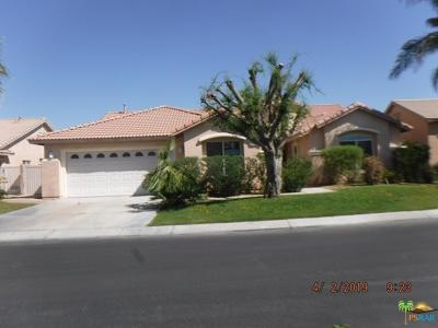 Indio Single Family Home Active Under Contract: 80618 Declaration Avenue