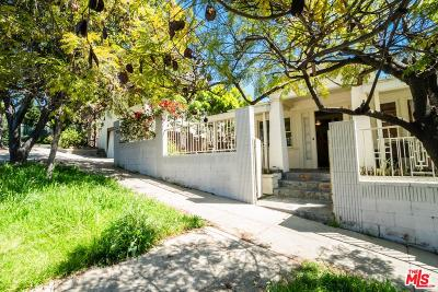 Single Family Home For Sale: 908 Manzanita Street