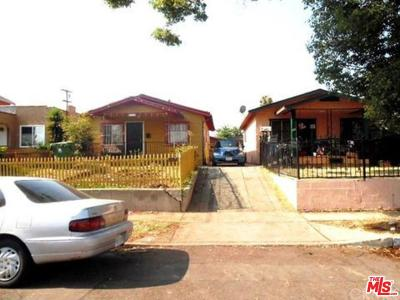 Los Angeles Single Family Home For Sale: 156 East 109th Street
