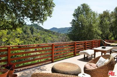 Topanga Single Family Home For Sale: 568 Canon View Trails