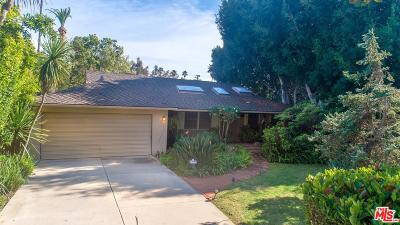 Santa Monica Single Family Home For Sale: 540 Alta Avenue