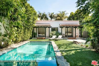 Los Angeles County Single Family Home Active Under Contract: 721 North Poinsettia Place