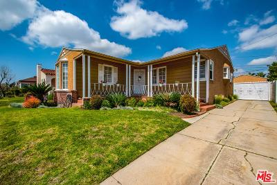 Single Family Home For Sale: 4439 West 61st Street