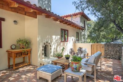 Topanga Single Family Home Active Under Contract: 20155 Observation Drive