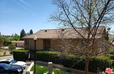 Sylmar Condo/Townhouse For Sale: 14047 Almetz Circle