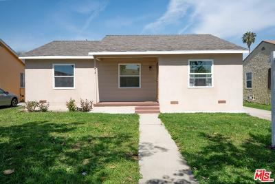 Compton Single Family Home Active Under Contract: 913 West Myrrh Street