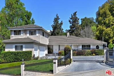 Encino Single Family Home For Sale: 16665 Oldham Street