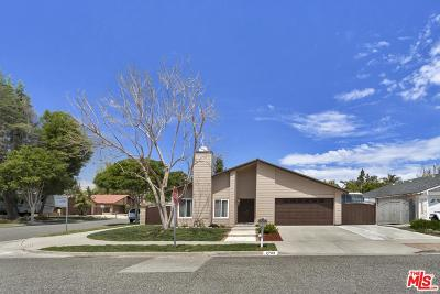 Simi Valley Single Family Home For Sale: 2703 Goldfield Place