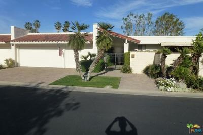 Rancho Mirage Single Family Home For Sale: 89 Princeton Drive