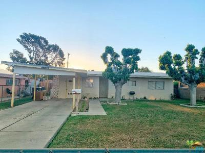 Indio Single Family Home Active Under Contract: 43786 Faye Street