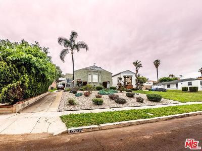 Los Angeles Single Family Home Active Under Contract: 6207 South Verdun Avenue