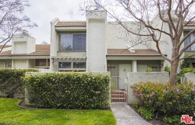 Studio City Condo/Townhouse For Sale: 11738 Moorpark Street #I
