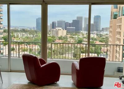 Los Angeles County Condo/Townhouse For Sale: 10501 Wilshire Boulevard #1409