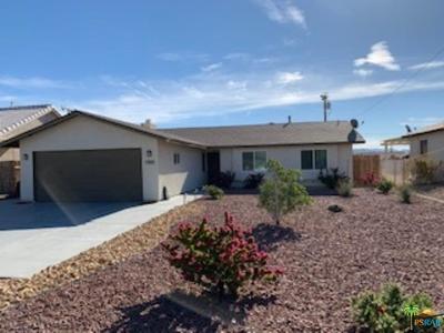 Desert Hot Springs Single Family Home For Sale: 13660 El Rio Lane