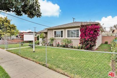 Los Angeles Single Family Home For Sale: 6145 Fairfield Street