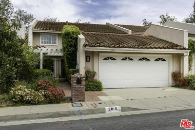 Los Angeles County Single Family Home Active Under Contract: 2816 Bottlebrush Drive