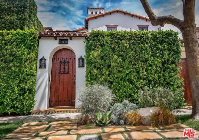 Los Angeles County Single Family Home Active Under Contract: 544 North Crescent Heights