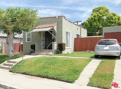 Los Angeles Single Family Home For Sale: 4838 Rosemary Drive
