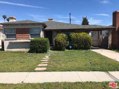 Single Family Home Sold: 5712 Alviso Avenue