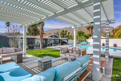 Palm Springs Single Family Home For Sale: 1162 East El Escudero