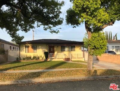 Burbank Single Family Home For Sale: 1026 North Lincoln Street
