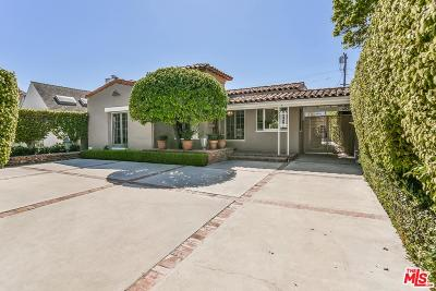 Beverly Hills Single Family Home For Sale: 329 South Almont Drive