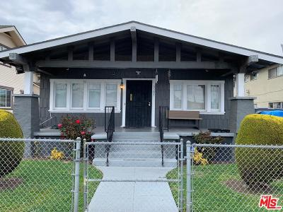 Los Angeles Single Family Home For Sale: 3105 West 71st Street