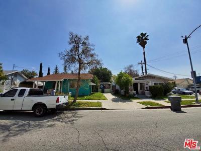 Glendale Single Family Home For Sale: 820 East California Avenue