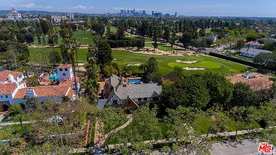 Hancock Park-Wilshire (C18) Single Family Home For Sale: 340 North June Street