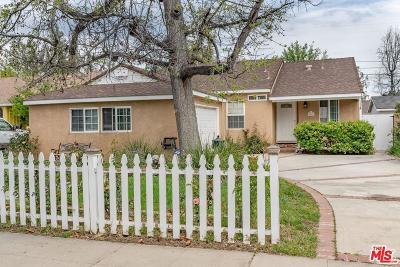 Sherman Oaks Single Family Home For Sale: 5826 Saloma Avenue