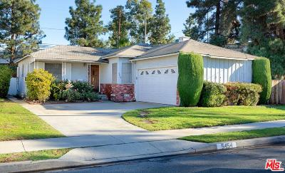 Culver City Single Family Home For Sale: 5454 Selmaraine Drive