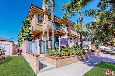 Culver City Condo/Townhouse For Sale: 3915 Bentley Avenue