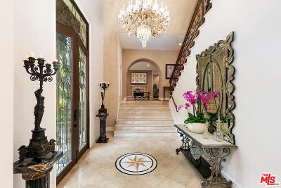 Beverly Hills Single Family Home For Sale: 1930 Benedict Canyon Drive