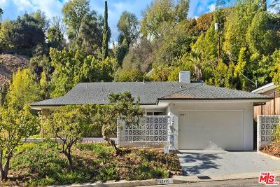 Los Angeles County Single Family Home Active Under Contract: 15475 Hamner Drive