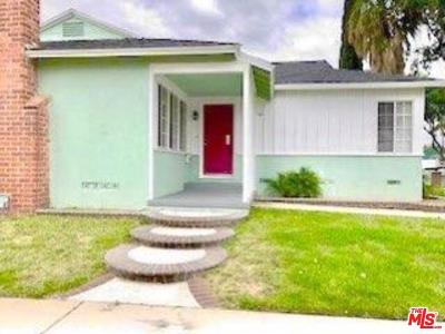 Los Angeles County Single Family Home For Sale: 13123 South Wilkie Avenue
