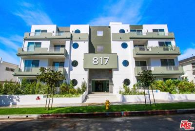 Los Angeles County Condo/Townhouse For Sale: 817 North Alfred Street #206