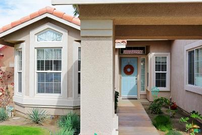 Cathedral City Single Family Home Active Under Contract: 30112 Floral Grove