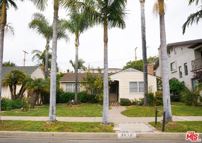 Los Angeles Single Family Home Active Under Contract: 2836 Malcolm Avenue