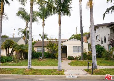 Cheviot Hills/Rancho Park (C08) Single Family Home For Sale: 2836 Malcolm Avenue