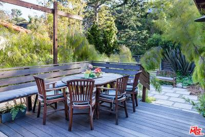 Santa Monica Single Family Home For Sale: 408 East Rustic Road